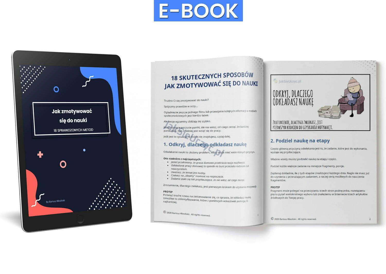 Jak zmotywować się do nauki ebook