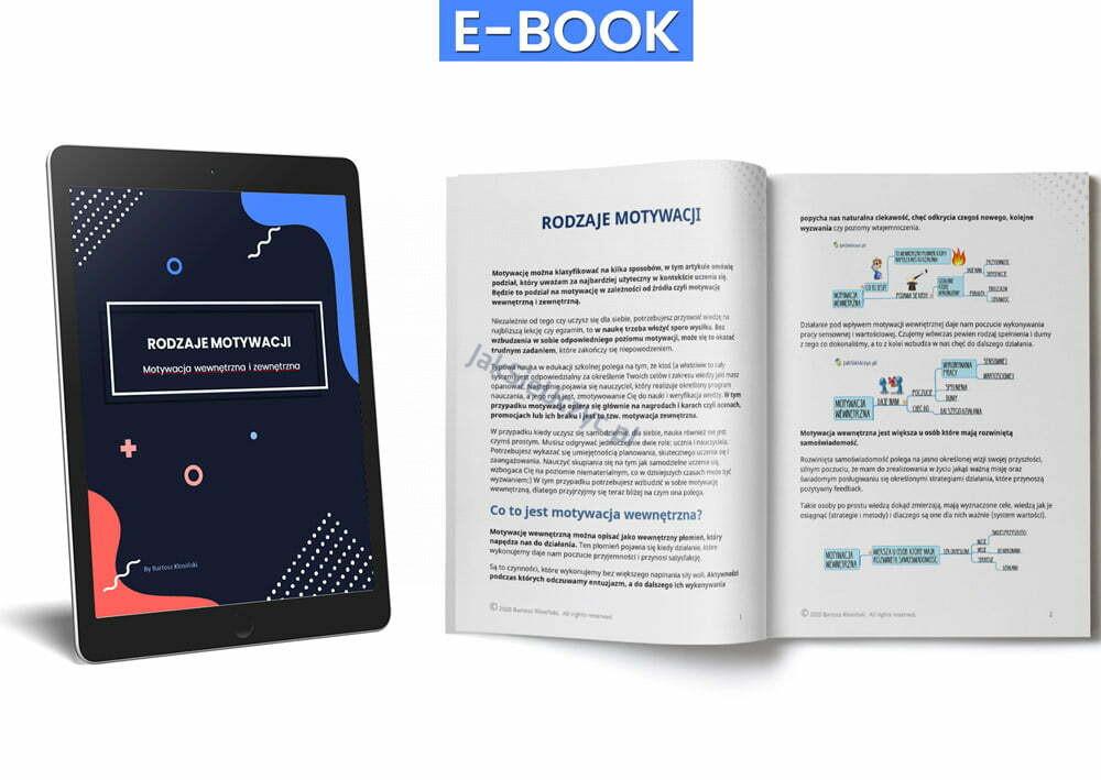 rodzaje motywacji ebook