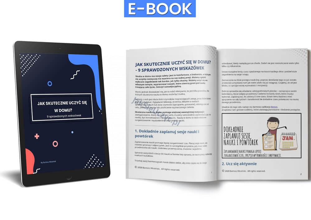 Jak efektywnie uczyć się w domu - Ebook